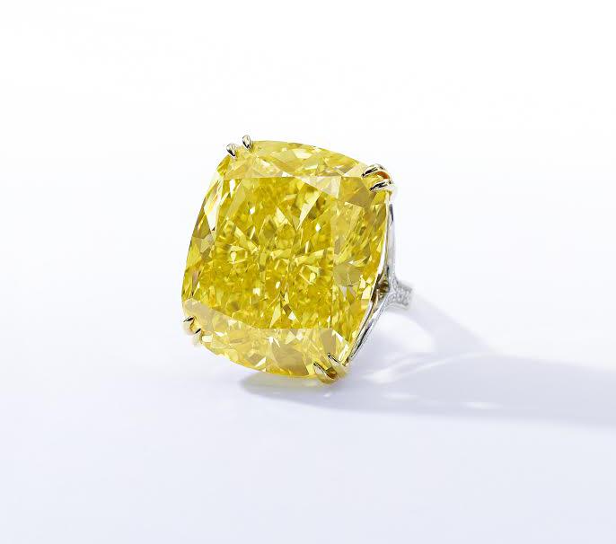 "Yellow Diamond ""Graff Vivid Yellow"" Sensational"