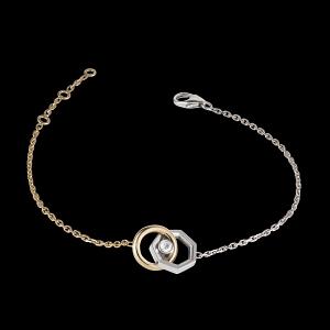 Lorenz bracelet, 18 carat white and rose gold, 0.06 carat diamond. Photo courtesy of Lorenz Baumer.