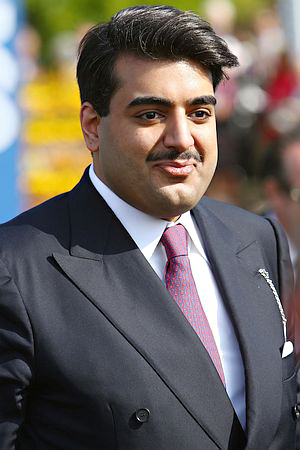 His Highness Sheikh Hamad bin Abdullah Al Thani.