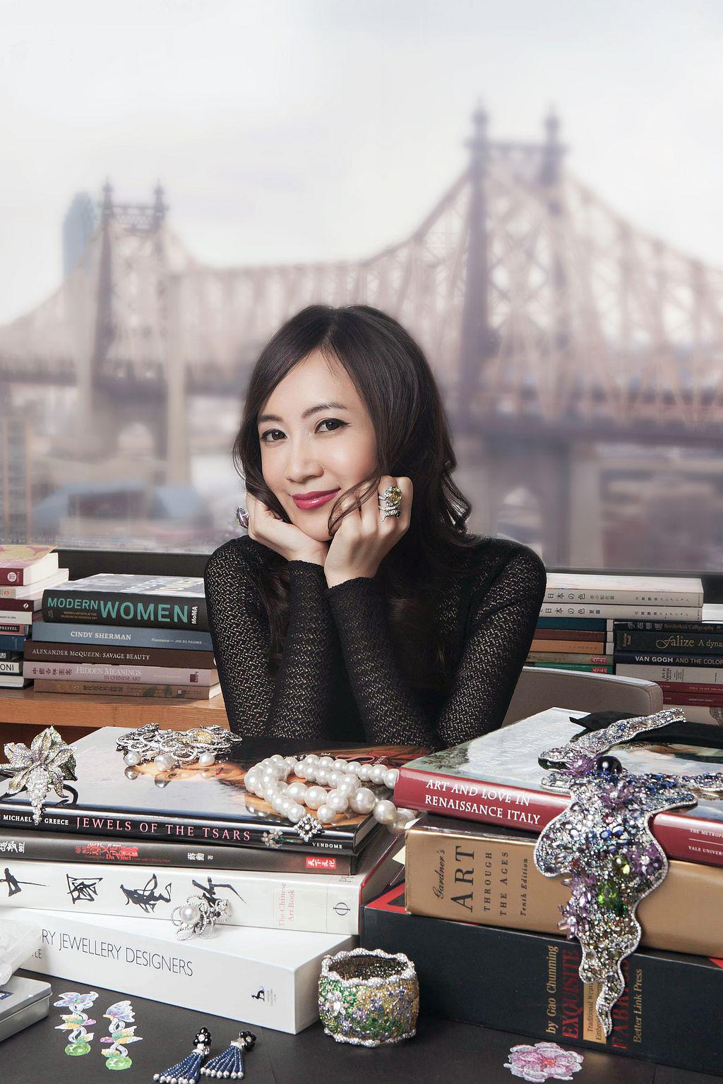 Taiwan Born New York Based Virtuoso Jeweler Anna Hu In Her