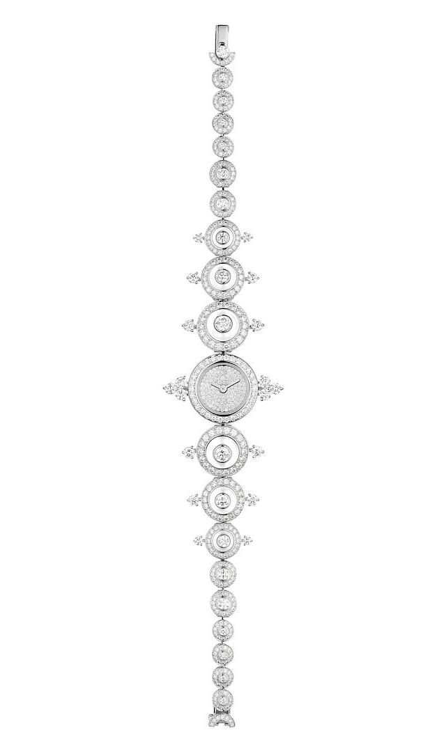 Diamond protrusions add interest to the Joy de Lumière's already spectacular design. Photos courtesy Boucheron.